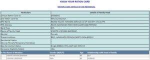 ration card online goa